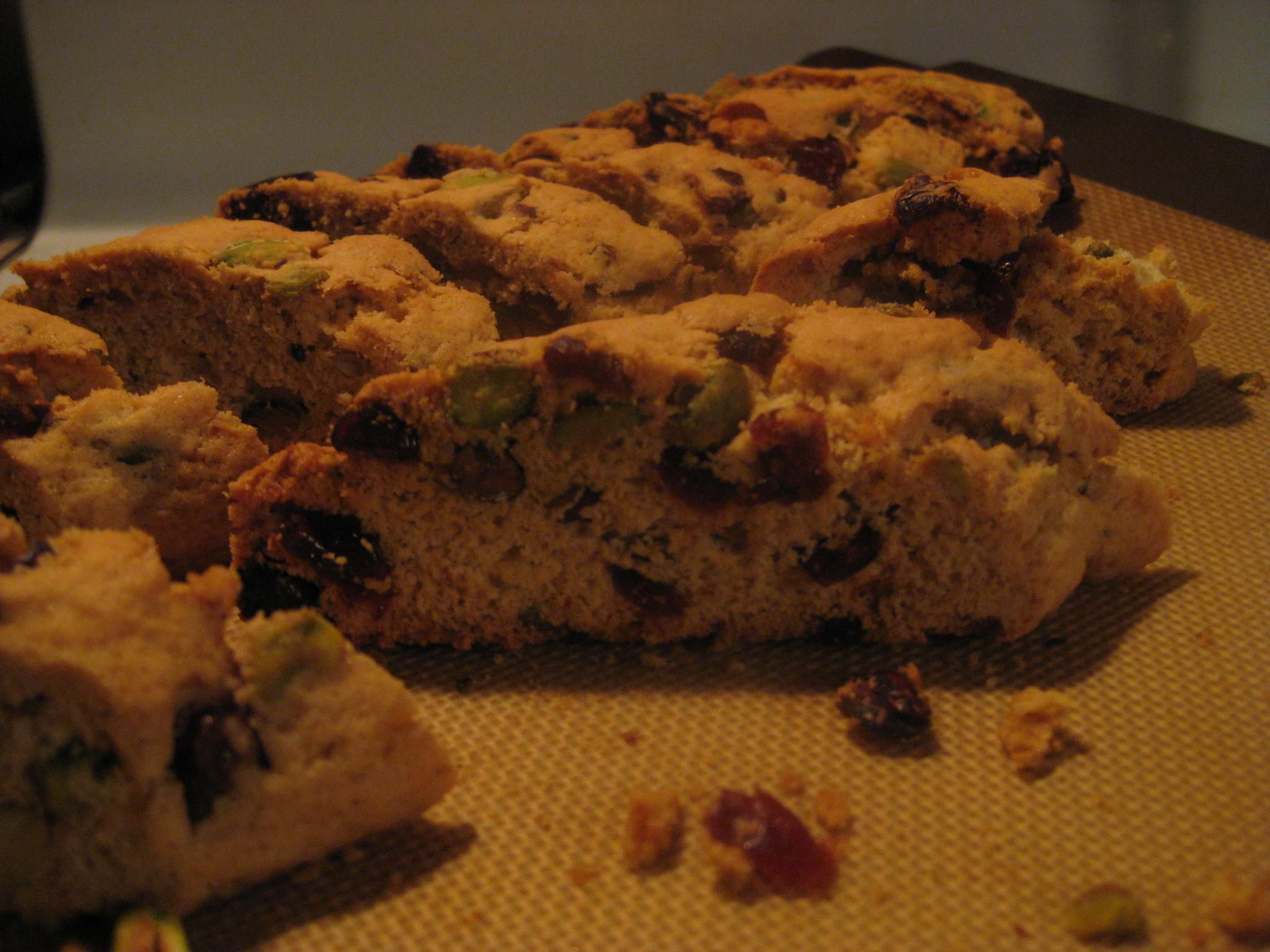 Pistachio Cranberry Biscotti Savoring Every Bite