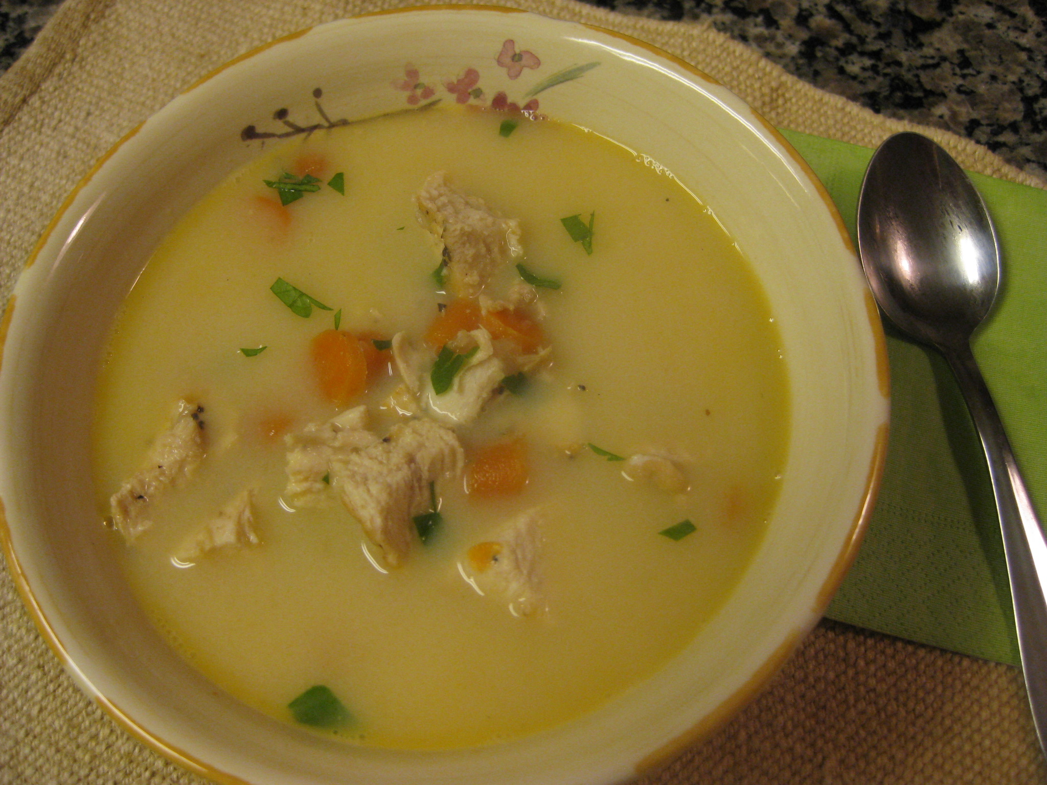 Lemon Chicken Soup Savoring Every Bite