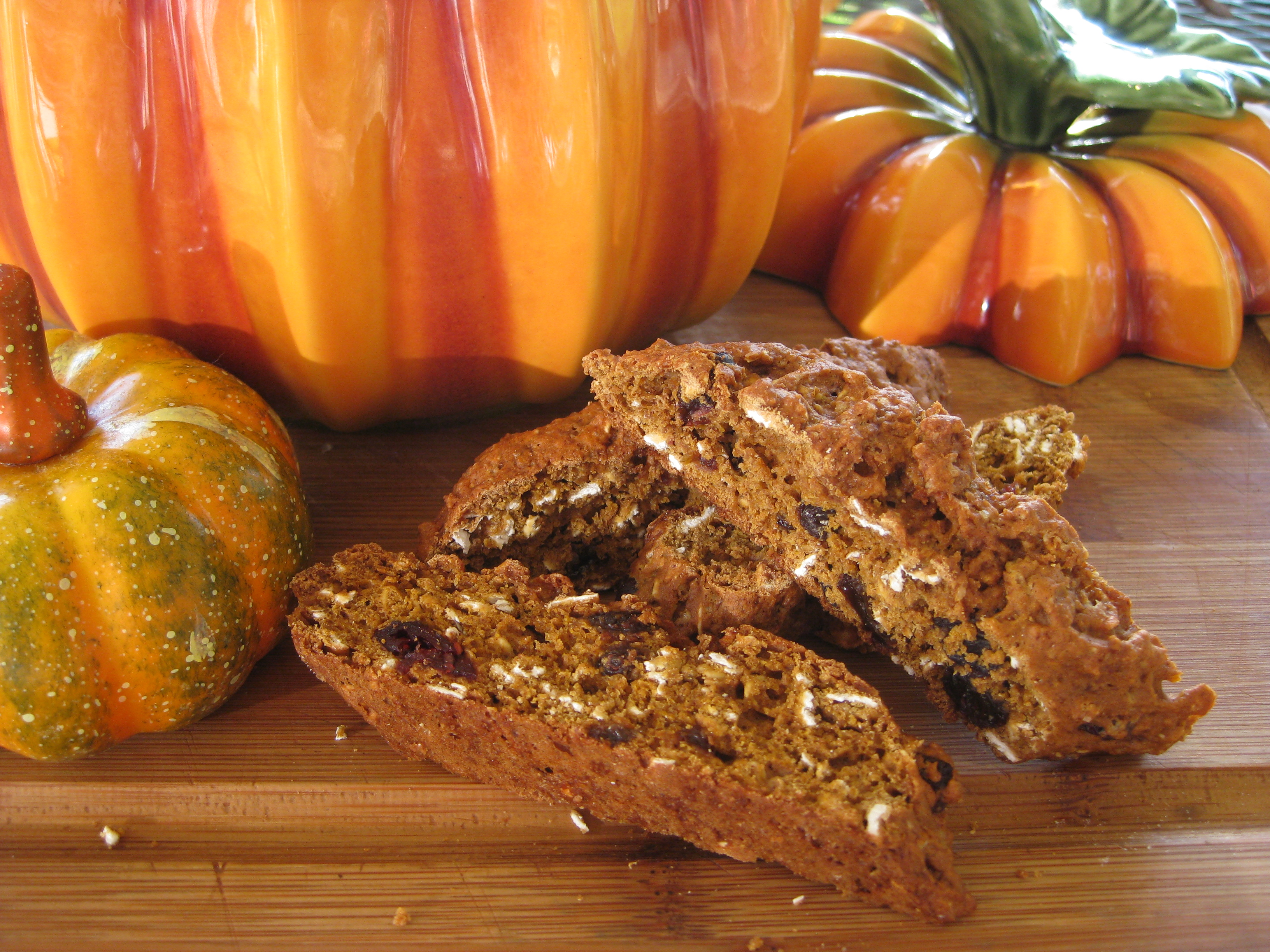 Pumpkin Biscotti Recipes — Dishmaps