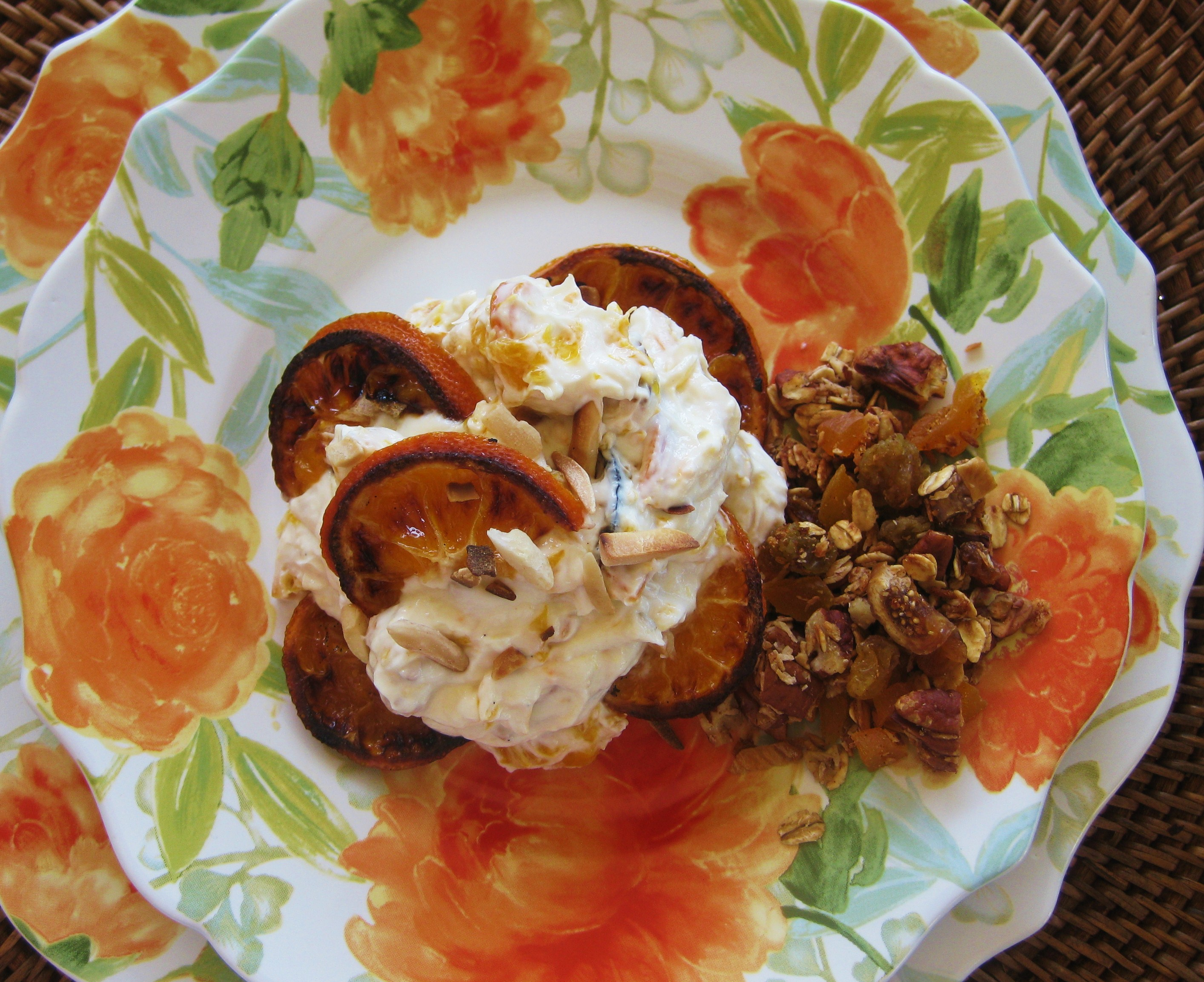 Citruslove: Caramelized Orange Yogurt Savoring Every Bite