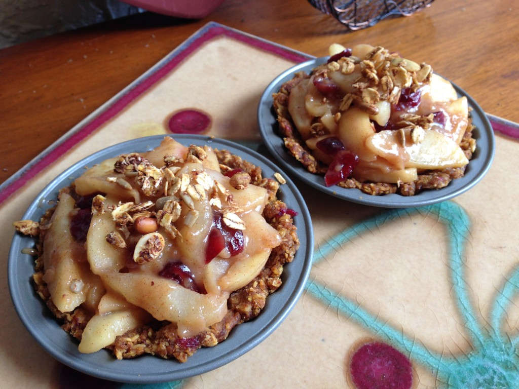 granola apple pie