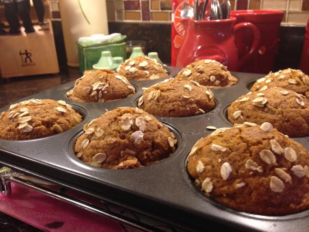 pumpkin muffins_pan