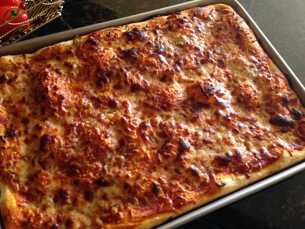 Sicilian pizza pan