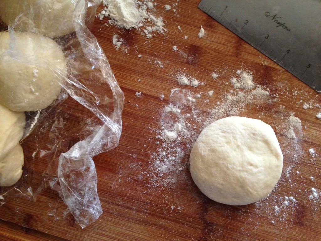 pita dough ball