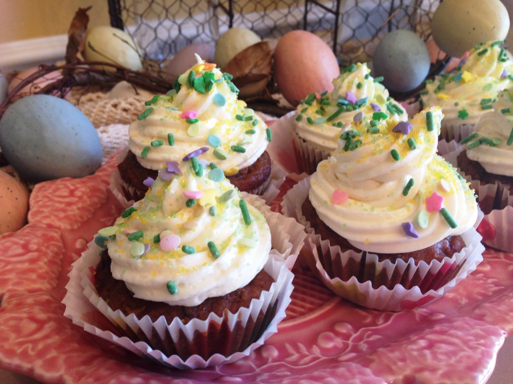 carrot beet cupcakes buffet3