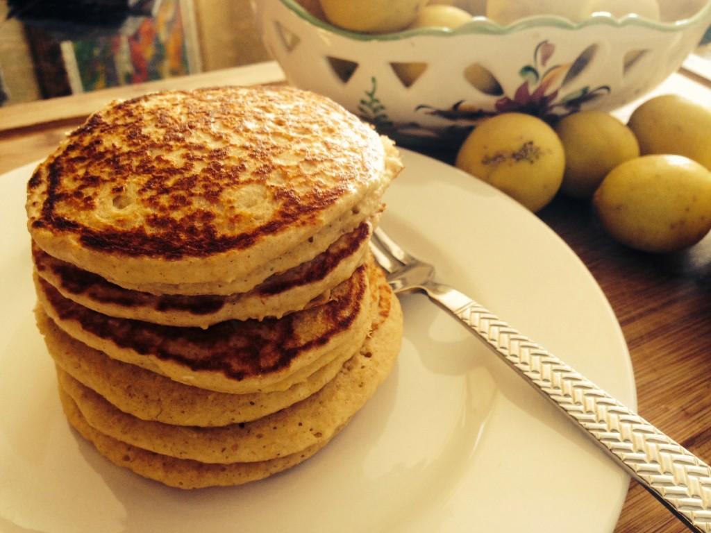 Key Lime pancakes